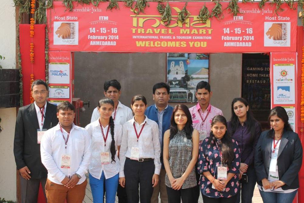 Internship At ITM Fair 2014 – Snowflakes Travel Academy